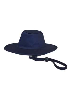 QMC Poly Cotton Sun Hat Navy