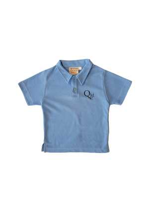 QMC Preschool Short Sleeve Polo Sky