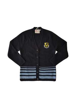 QMC Senior Cardigan Navy/Sky