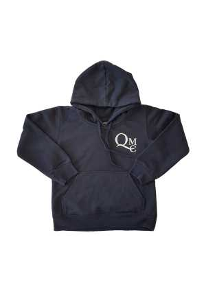 Queen Margaret (Indent) (Optional) Ladies Hoodie Navy (incl Printing)